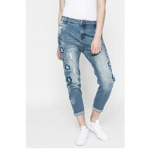 Desigual - Jeansy Brazzaville, jeansy