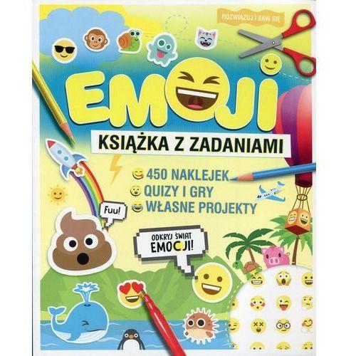 EMOJI Książka z zadaniami - Wydawnictwo Olesiejuk, Olesiejuk