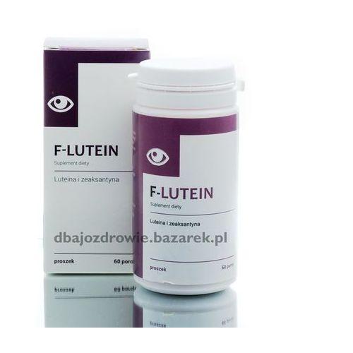 F-LUTEIN, Luteina, WZROK - Suplement Diety - 60 porcji