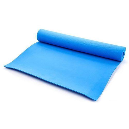Meteor Mata do ćwiczeń fitness  - blue 173x61x0,5cm - niebieski