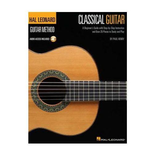 Hal Leonard Classical Guitar Method (Book/Online Audio)