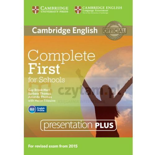 Complete First for Schools Presentation Plus DVD-ROM (Płyta DVD) (9781107685291)