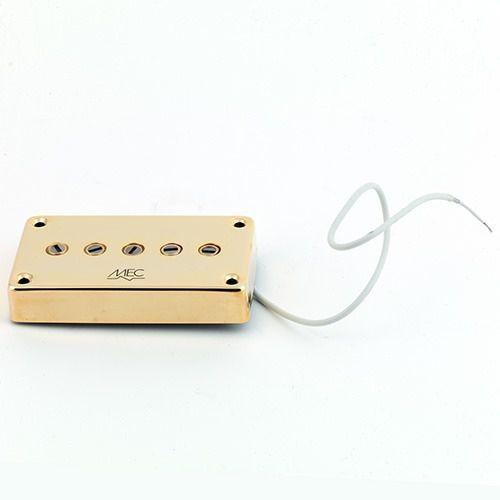 star bass ii 5 string pu, passive, neck, złoty przetwornik gitarowy marki Mec