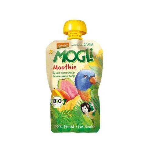 MOGLI 100g Moothie Przecier bananowy z guawą i mango BIO
