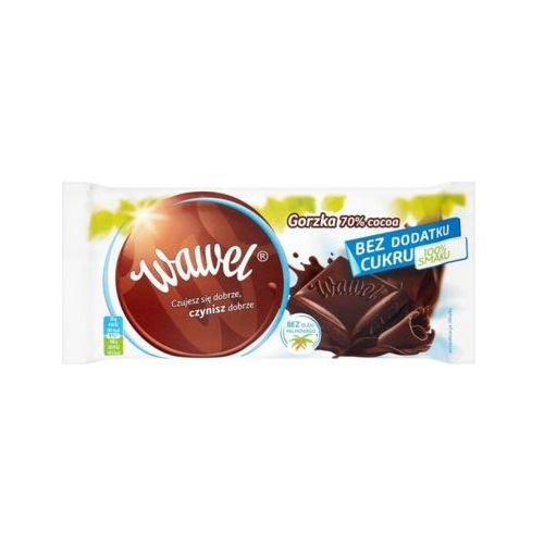 100g czekolada deserowa 70% bez dodatku cukru marki Wawel