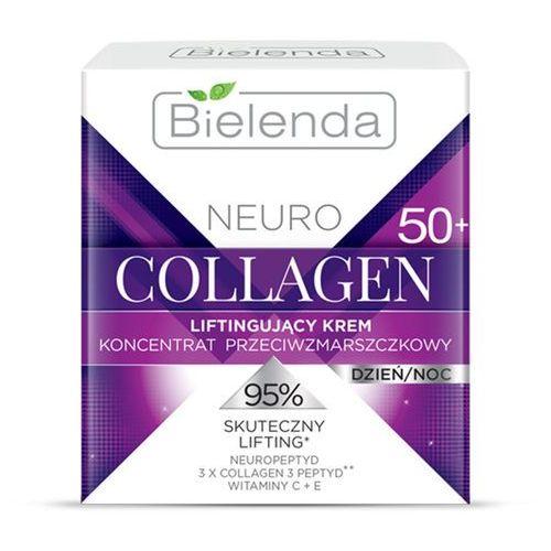 Liftingujący krem przeciwzmarszczkowy 50+ Neuro Collagen 50ml Bielenda