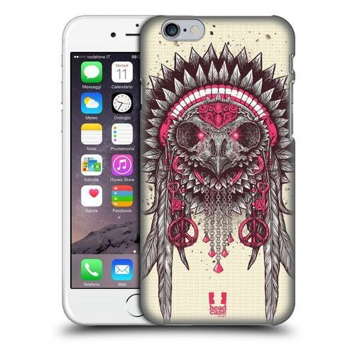 Etui plastikowe na telefon - ethnic owls pink and grey marki Head case