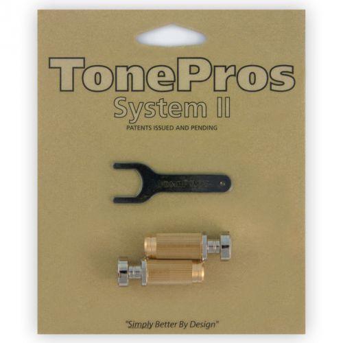 sns1-n - locking studs, części mostka do gitary, niklowane marki Tonepros