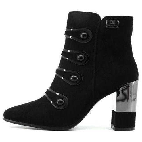 Laura Biagiotti buty za kostkę damskie 41 czarny (8053340367151)