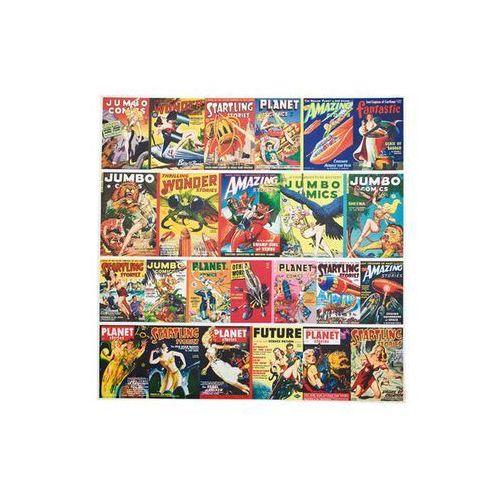 Kare Design Modern Vintage Action Comics Obraz 100x100 (31421) (obraz)