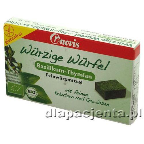 Kostki ziołowe z bazylią i tymiankiem - bezglutenowe