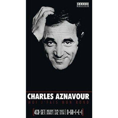 CHARLES AZNAVOUR - Moi J'fais Mon Rond (4CD) (4011222236951)