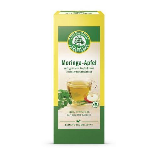 Herbatka moringa-jabłko ekspresowa bio (20 x 2 g) - lebensbaum marki Lebensbaum (przyprawy, herbaty, kawy)