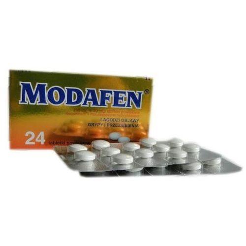 Modafen tabletki powlekane 24 sztuki (lek na katar)