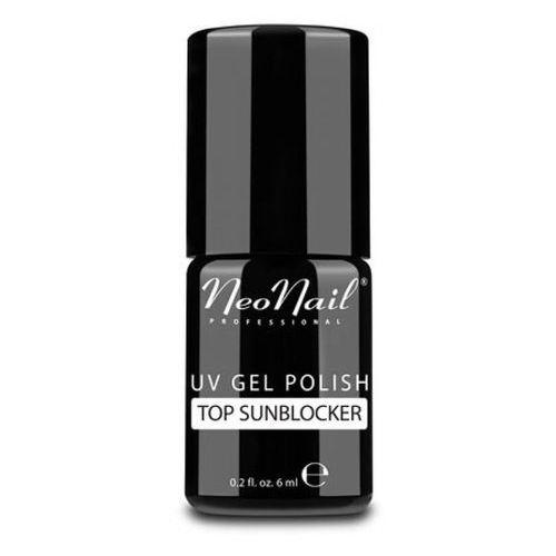 Neonail top sunblocker nabłyszczacz do lakieru hybrydowego (6 ml)