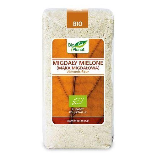 Bio planet - seria brązowa (orzechy i pestki) Migdały mielone (mąka migdałowa) bio 500 g - bio planet