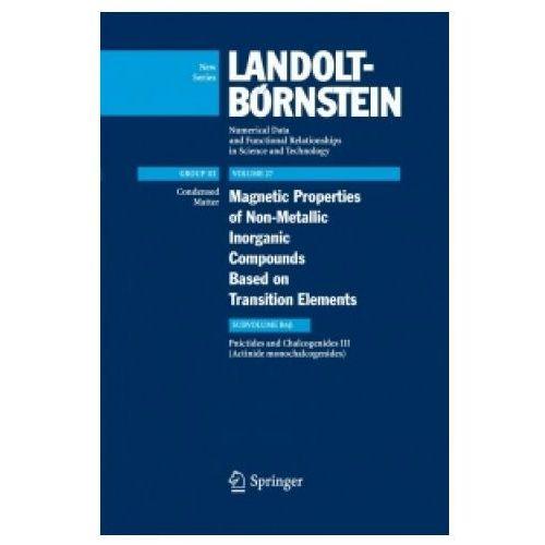 Actinide monochalcogenides