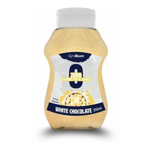GymBeam Syrop bez kalorii o smaku białej czekolady 350 ml