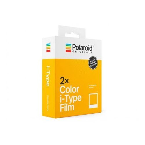 Impossible Polaroid originals i-type color 2x wkłady do aparatów i-1 oraz one step2