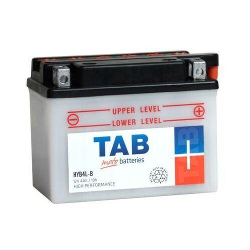 Akumulator motocyklowy yb4l-b (hyb4l-b) 12v 4ah 45a p+ marki Tab