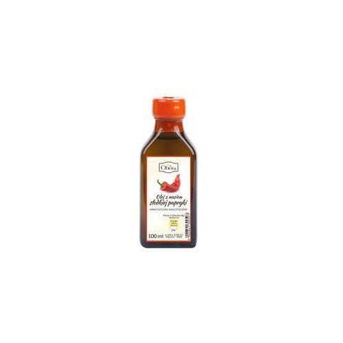 Ol'vita Olej z nasion słodkiej papryki zimno tłoczony nieoczyszczony100 ml