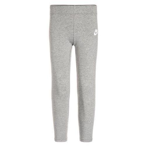 Nike Performance CLUB Legginsy dark grey heather/white (legginsy dziecięce) od Zalando.pl