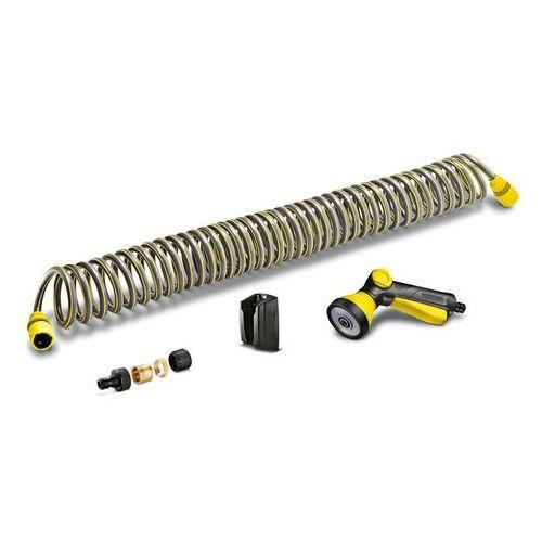 Wąż spiralny 5/16'' (10 m) - zestaw z pistoletem, adapterem na kran i uchwytem ściennym (Karcher 2.645-178.0)