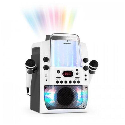Kara Liquida BT Zestaw karaoke show świetlne fontanna Bluetooth biały/szary