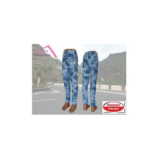 Modne legginsy marmurkowe PL r.146 - sprawdź w Chatkabławatka