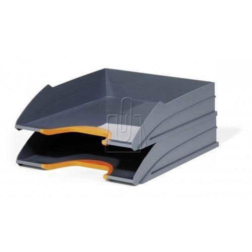 Zestaw dwóch półek varicolor pomarańczowe 7702-09 marki Durable