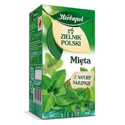 Herbatka ziołowa Zielnik Polski Mięta EX'20 40 g Herbapol, 5900956002309
