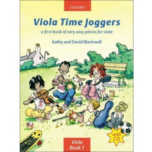 PWM Blackwell Kathy, David - Viola time joggers. A first book of very easy pieces for viola (utwory na altówkę + CD)