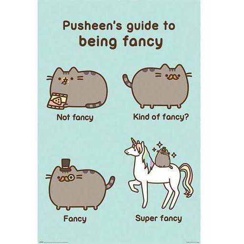 Pusheen Super Fancy - plakat (5050574342421)