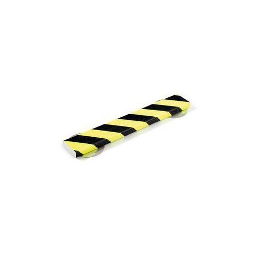 Shg pur-profile Profil ostrzegawczy i ochronny knuffi®,dł. 1000 mm, przekrój: prostokątny, duży