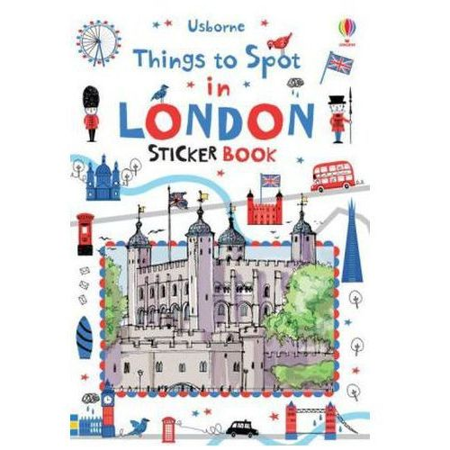 Things to Spot in London Sticker Book (9781409586050)