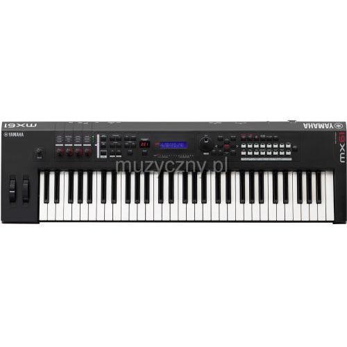 mx 61 ii black syntezator (czarny) marki Yamaha
