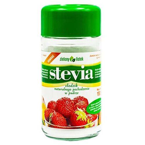 Stevia Stewia Naturalny Słodzik w Pudrze Puder 150g - Zielony Listek (5901751001092)