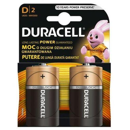 Bateria d 2szt. marki Duracell