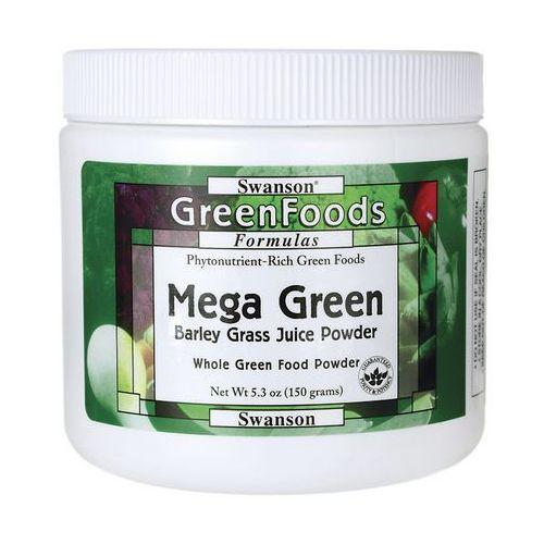 Swanson Mega Green Barley Juice Powder (Sproszkowany sok z młodej trawy jęczmienia) 150g