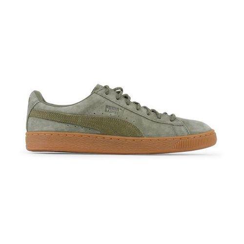 Buty męskie sneakersy basket classic 361324-03 zielone marki Puma