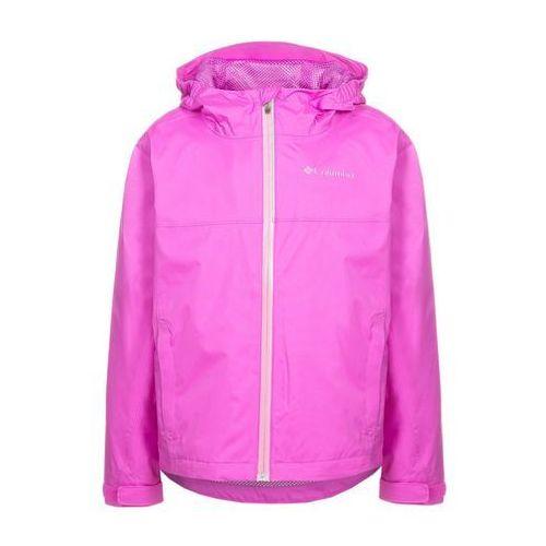 Columbia SPLASH MAKER III Kurtka przeciwdeszczowa pink - produkt z kategorii- kurtki dla dzieci