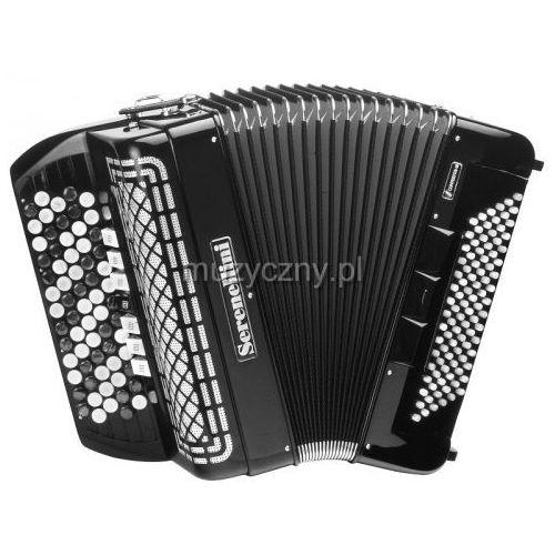 Serenellini 373 cr 37(67)/3/7 96/4(f/n-2)/3 akordeon guzikowy z konwertorem (czarny)