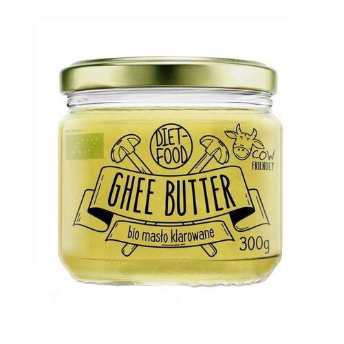 Masło klarowane ghee bio 300g diet-food marki Diet food