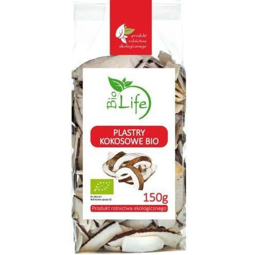 101biolife Plastry kokosowe 150g - biolife