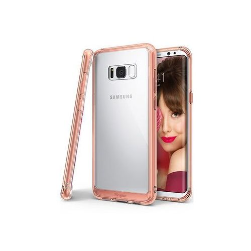 Ringke Samsung galaxy s8 - etui na telefon fusion - różowy