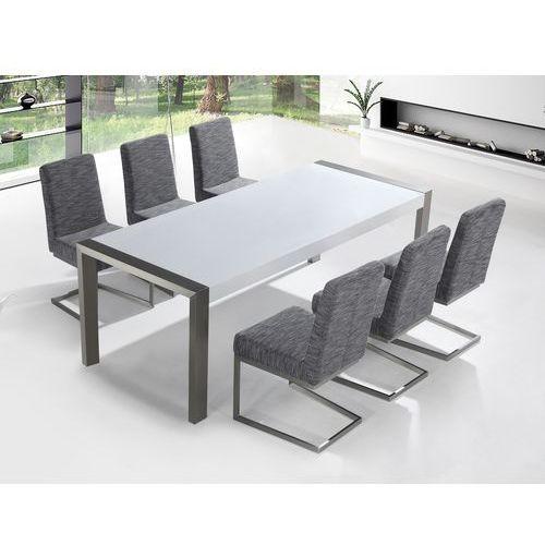 Zestaw mebli stal szlachetna – Stół 220 – Krzesła do wyboru - ARCTIC I - produkt z kategorii- Zestawy mebli kuchennych
