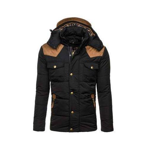 Kurtka męska zimowa czarna denley 3088 marki J.style