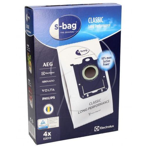 Aeg Worki s-bag long performance e201s (4szt.) + filtry do odkurzacza 9001684589 (7321423976868)