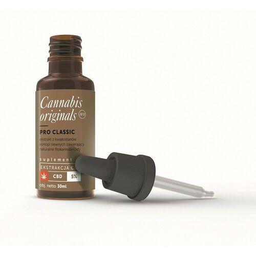 Olejek CBD PRO Classic 5% 30ml Cannabis originals