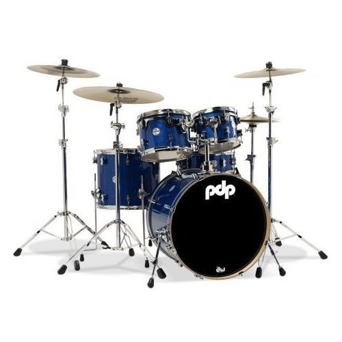 Pdp by dw shell set concept maple, blue sparkle